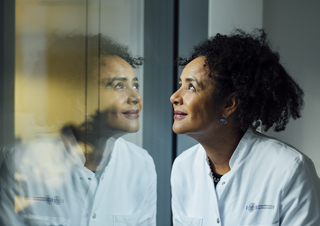Dr. Marylyn Addo, Coronavirus researcher. DIE ZEIT 10/2020